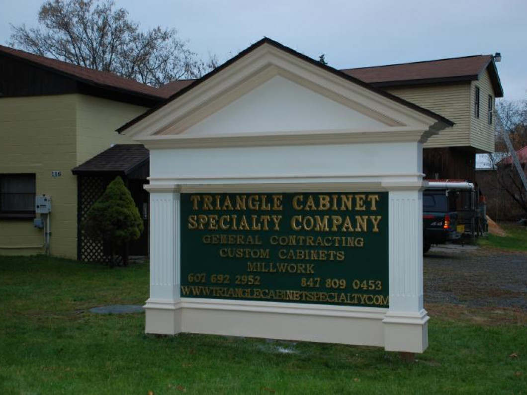 Triangle Cabinet & Specialty