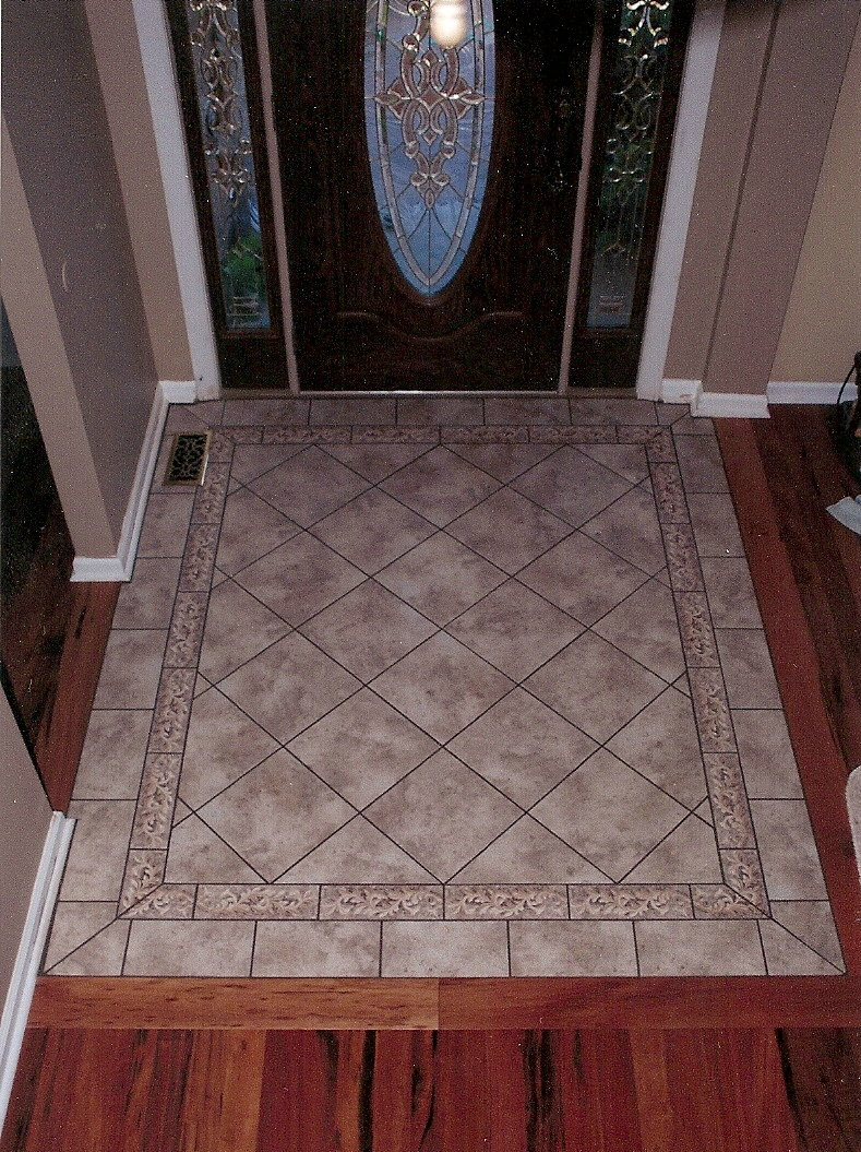 Foyer Tile Or Hardwood : Ceramic tile installations whitney point vestal